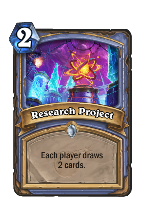 Research Project Hearthstone kártya