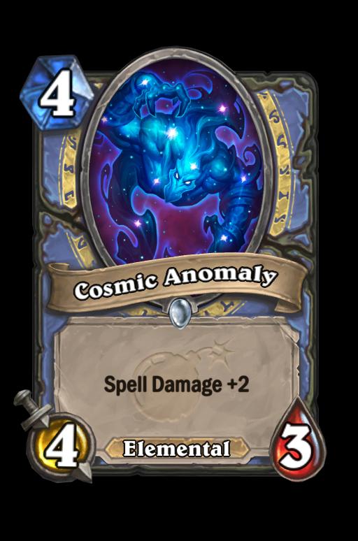 Cosmic Anomaly Hearthstone kártya