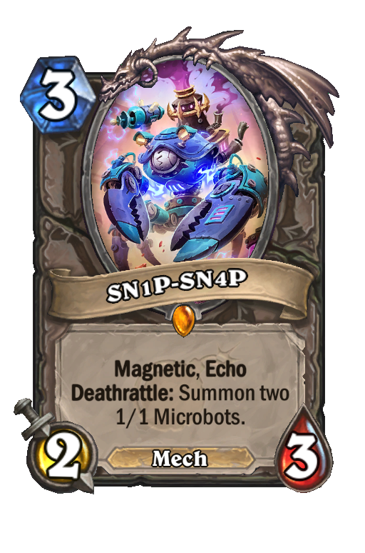 SN1P-SN4P Hearthstone kártya