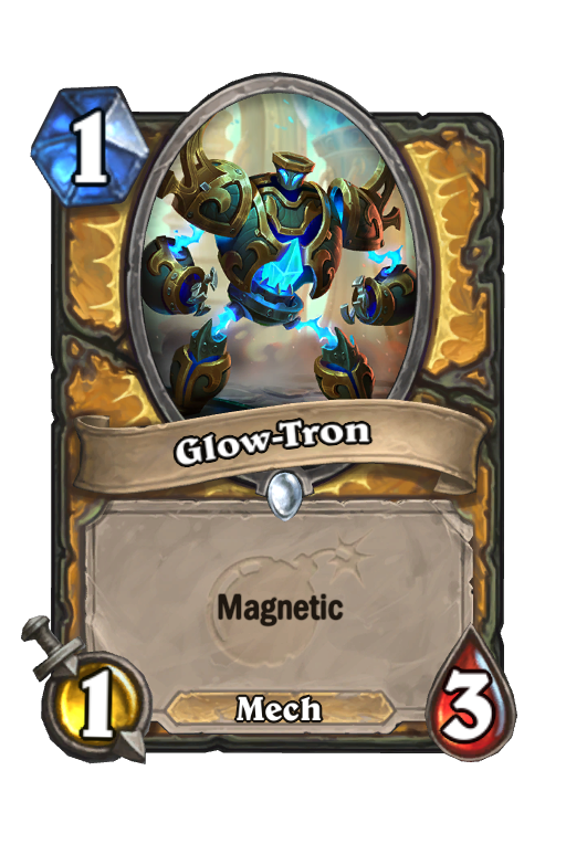 Glow-Tron Hearthstone kártya