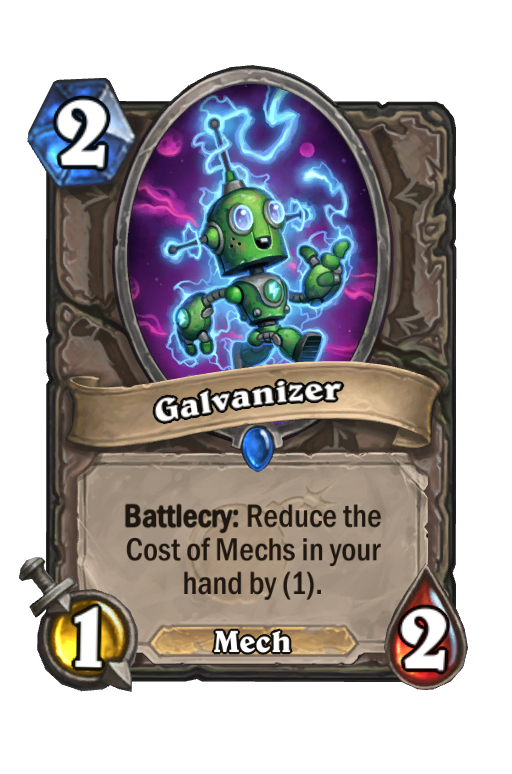 Galvanizer Hearthstone kártya