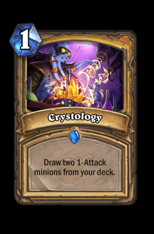 Crystology Hearthstone kártya