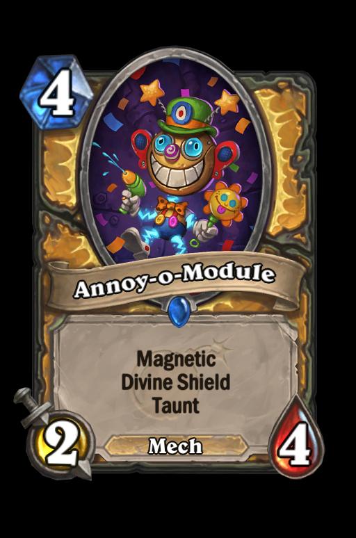 Annoy-o-Module Hearthstone kártya