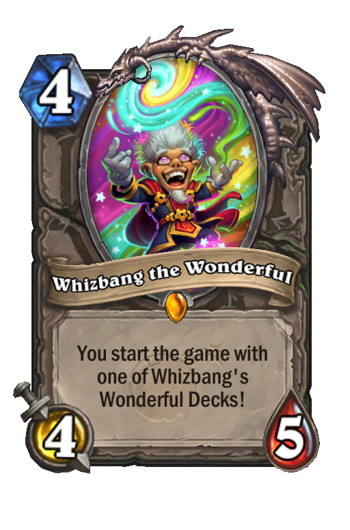 Whizbang the Wonderful Hearthstone kártya