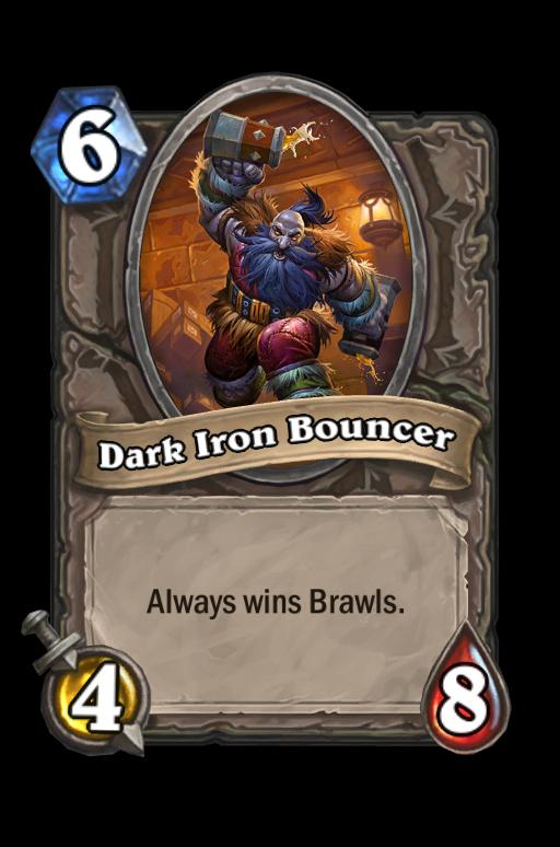 Dark Iron BouncerHearthstone kártya