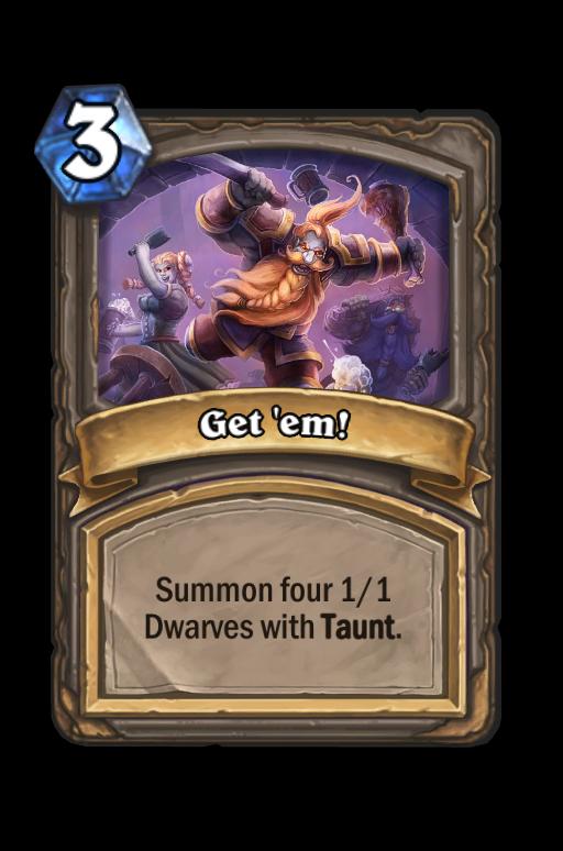 Get 'em!Hearthstone kártya