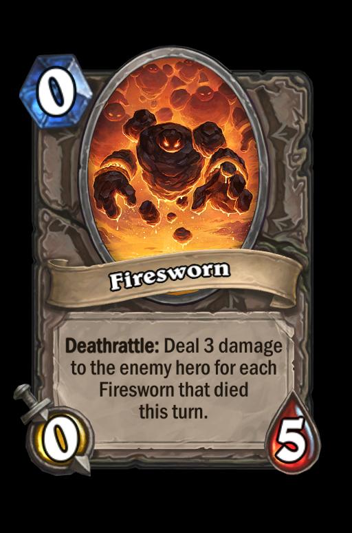 Firesworn (heroic) Hearthstone kártya