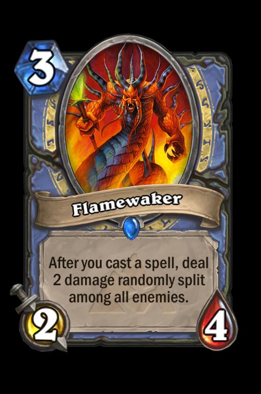 Flamewaker Hearthstone kártya