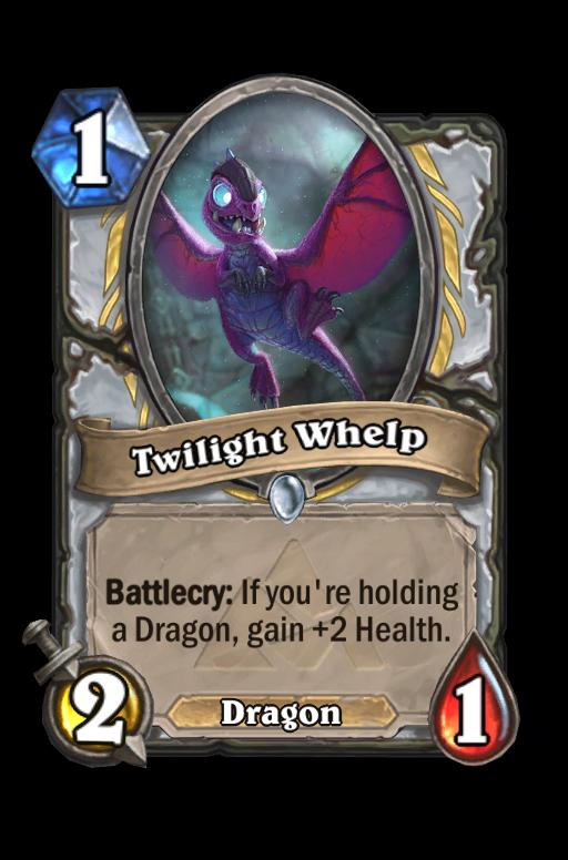 Twilight Whelp Hearthstone kártya