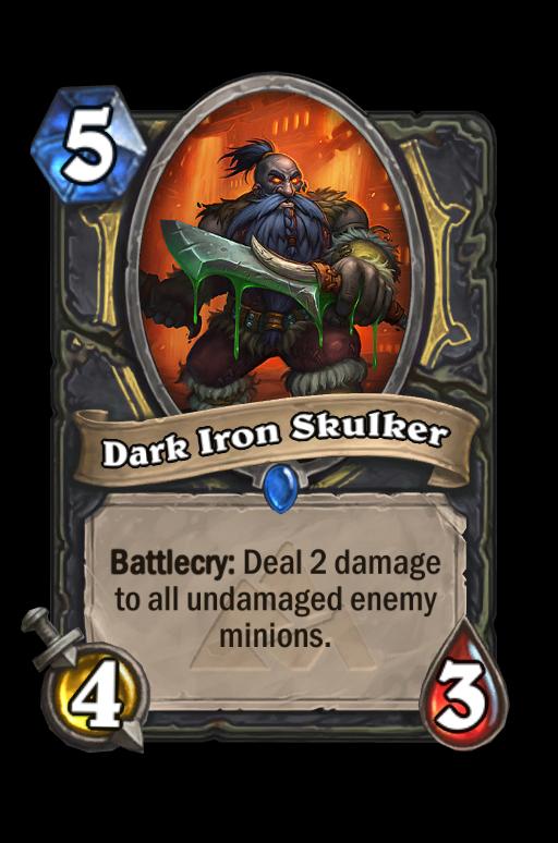 Dark Iron SkulkerHearthstone kártya