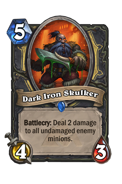 Dark Iron Skulker Hearthstone kártya