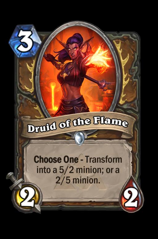 Druid of the Flame Hearthstone kártya