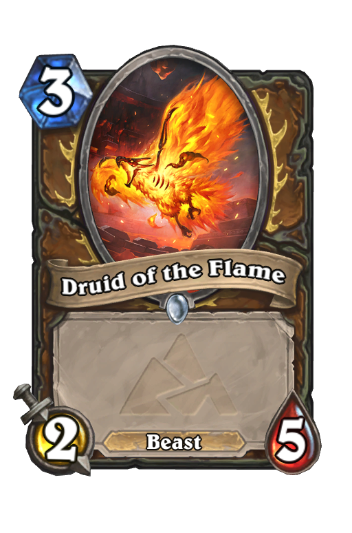 Druid of the Flame Hearthstone kártya