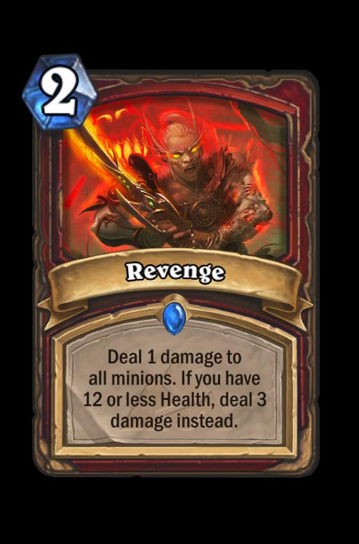 RevengeHearthstone kártya