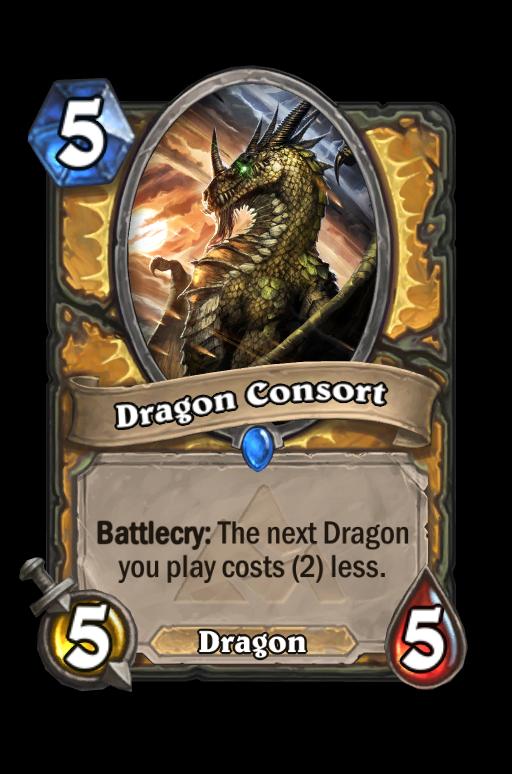 Dragon Consort Hearthstone kártya