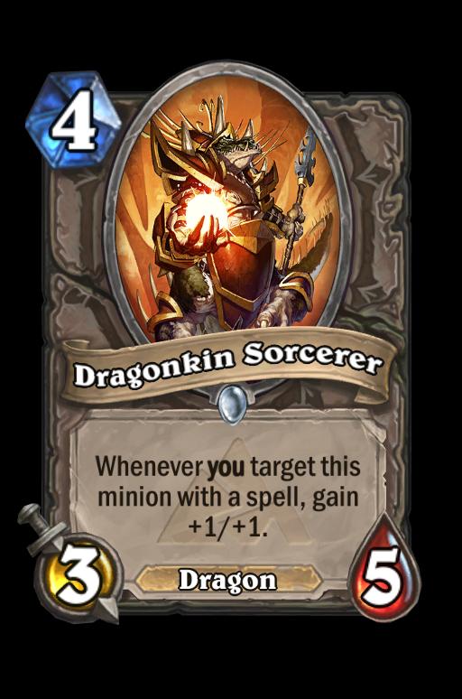 Dragonkin Sorcerer Hearthstone kártya