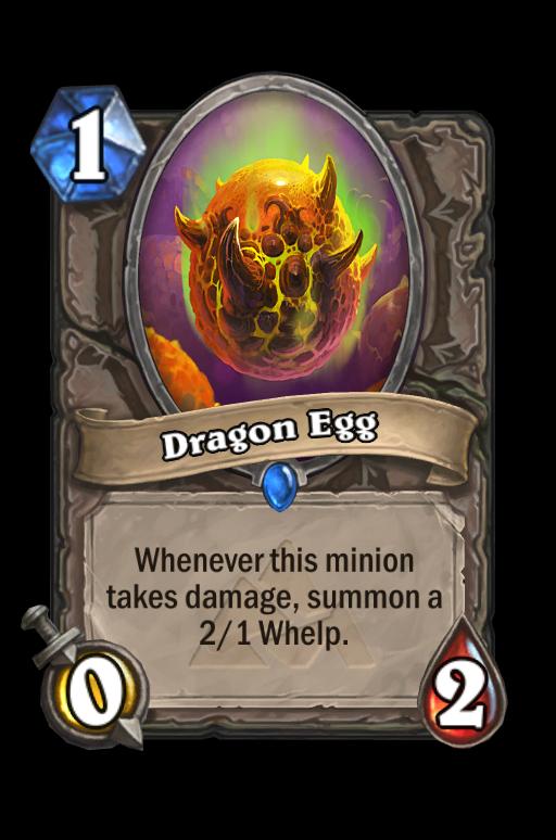 Dragon Egg Hearthstone kártya