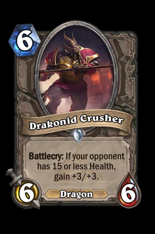Drakonid Crusher Hearthstone kártya