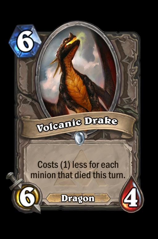 Volcanic Drake Hearthstone kártya