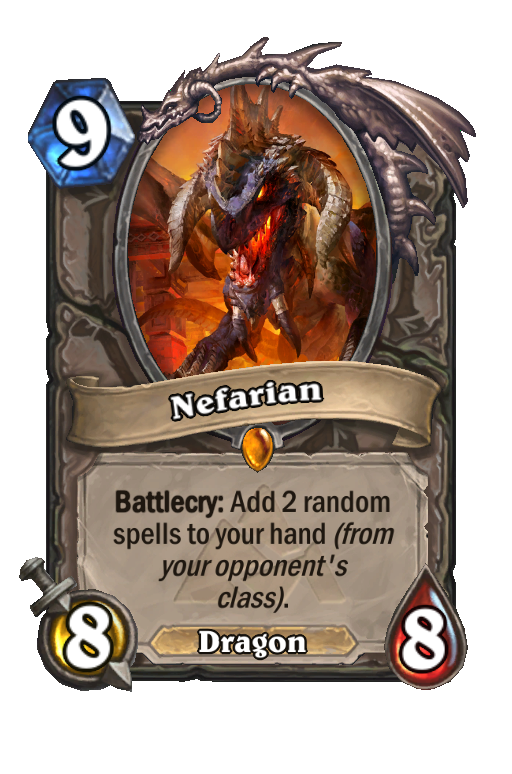 NefarianHearthstone kártya