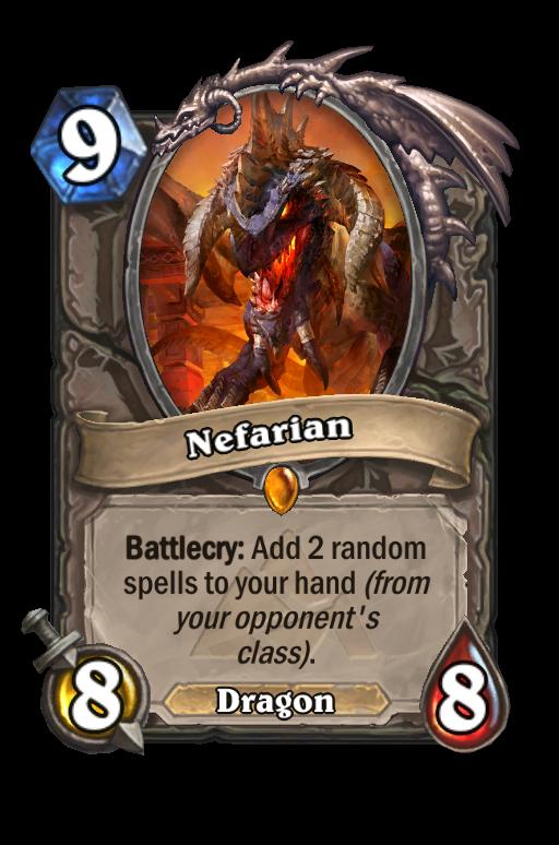 Nefarian Hearthstone kártya