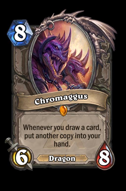Chromaggus Hearthstone kártya