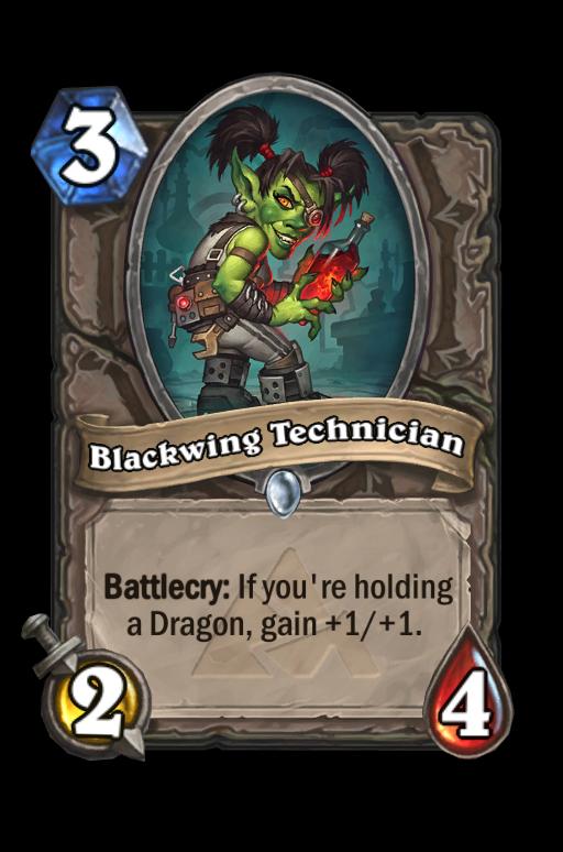 Blackwing Technician Hearthstone kártya