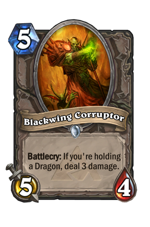 Blackwing Corruptor Hearthstone kártya