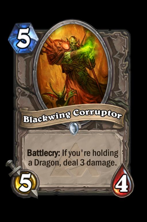Blackwing Corruptor Hearthstone kártya