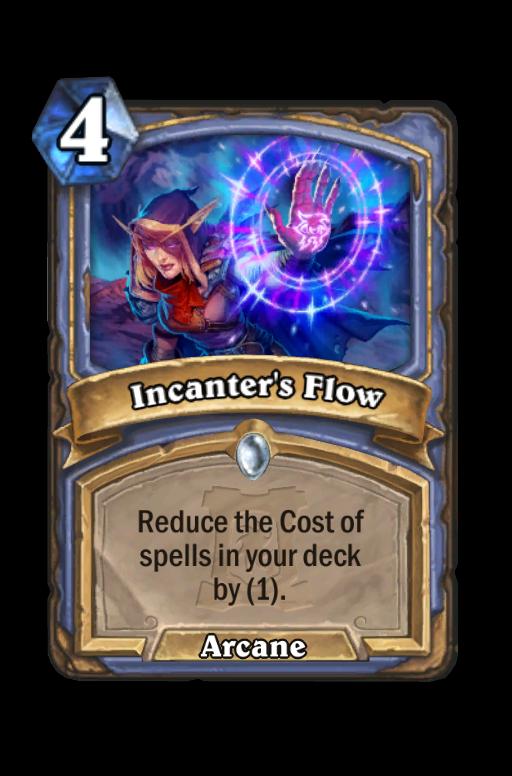 Incanter's Flow Hearthstone kártya