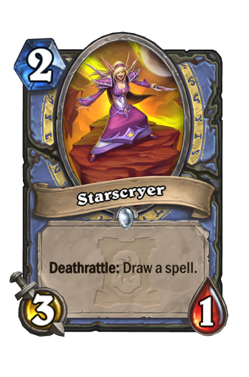 Starscryer Hearthstone kártya