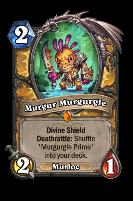 Murgur Murgurgle Hearthstone kártya