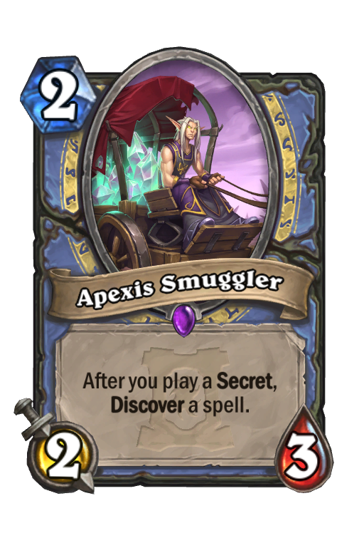 Apexis Smuggler Hearthstone kártya