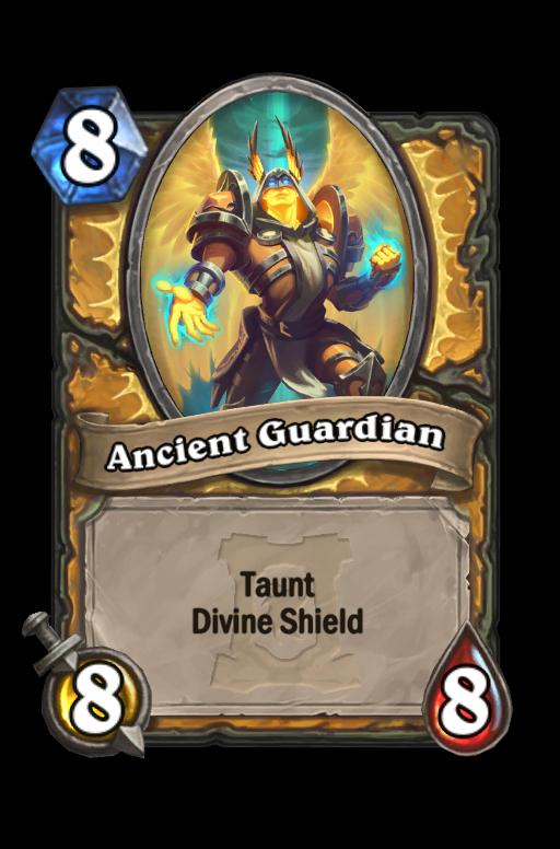 Ancient Guardian Hearthstone kártya