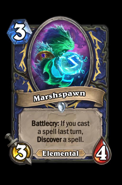 Marshspawn Hearthstone kártya