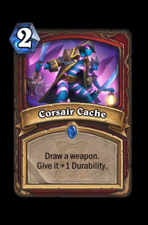 Corsair Cache Hearthstone kártya