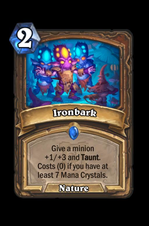 Ironbark Hearthstone kártya