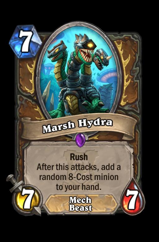 Marsh Hydra Hearthstone kártya