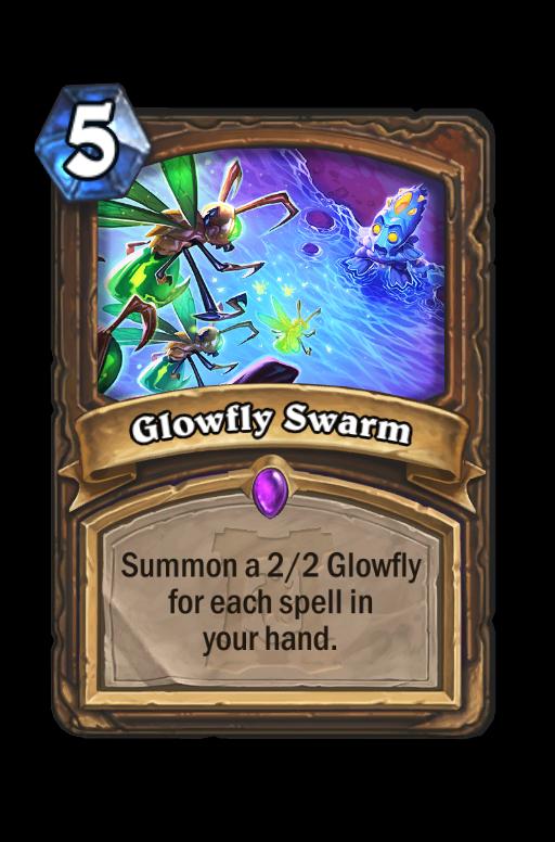 Glowfly Swarm Hearthstone kártya