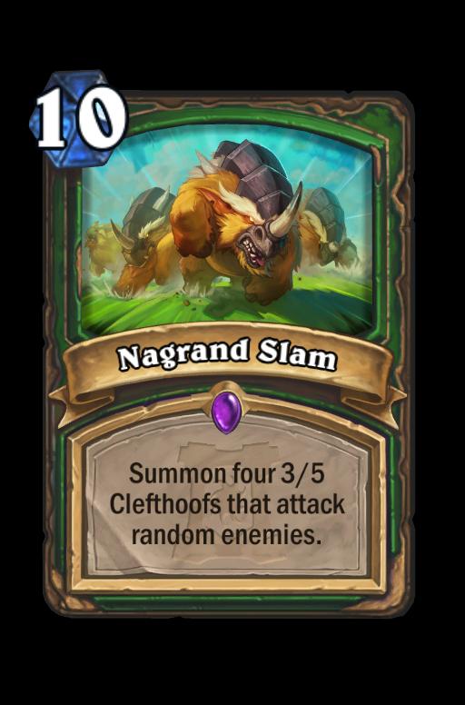 Nagrand Slam Hearthstone kártya