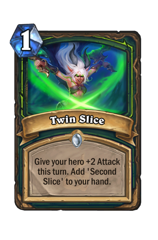 Twin Slice Hearthstone kártya