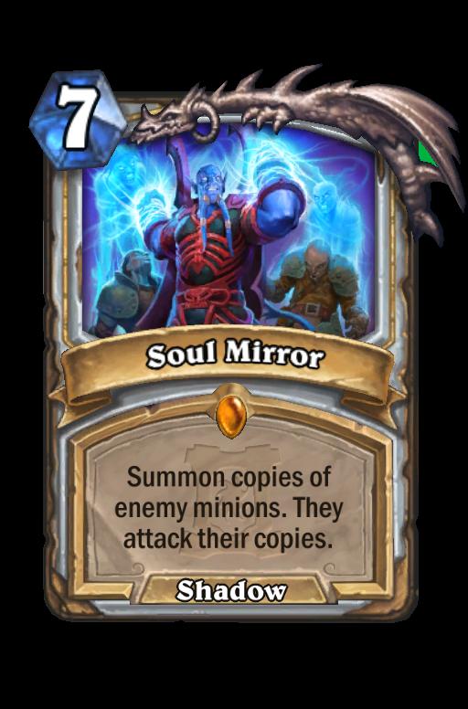 Soul Mirror Hearthstone kártya