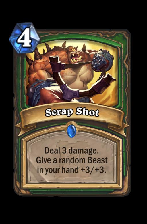 Scrap Shot Hearthstone kártya