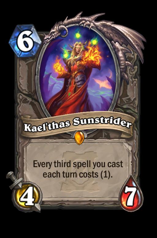 Kael'thas Sunstrider Hearthstone kártya