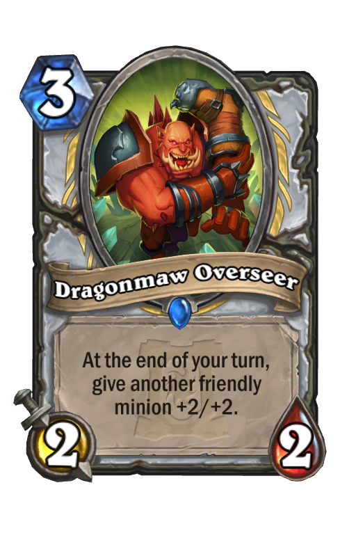 Dragonmaw Overseer Hearthstone kártya