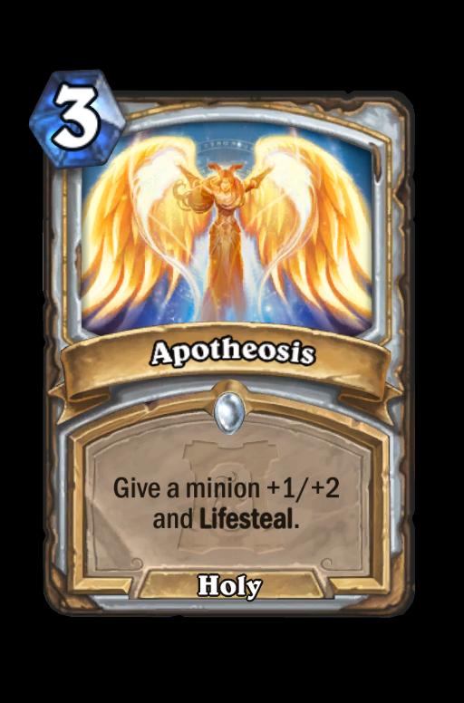 Apotheosis Hearthstone kártya