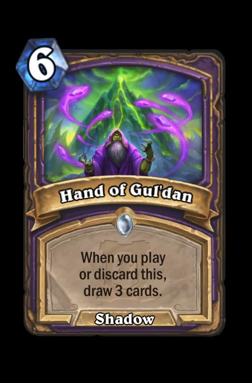 Hand of Gul'dan Hearthstone kártya