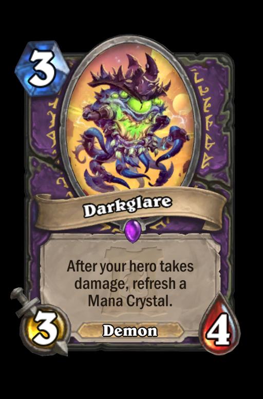 Darkglare Hearthstone kártya