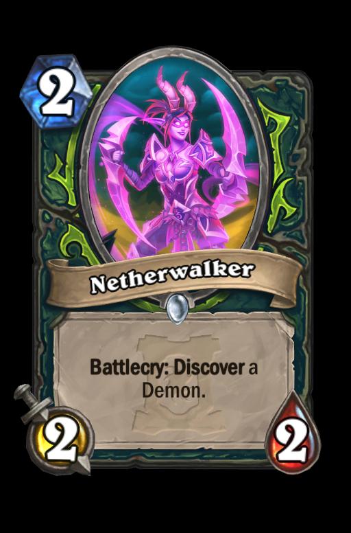 Netherwalker Hearthstone kártya