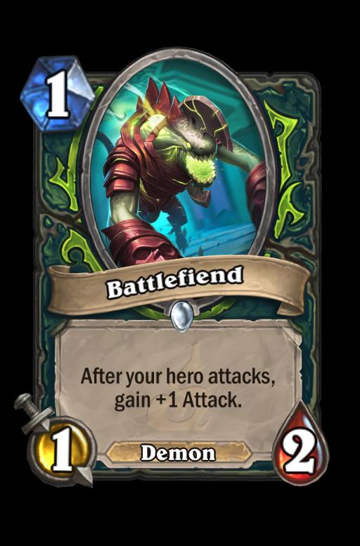 Battlefiend Hearthstone kártya